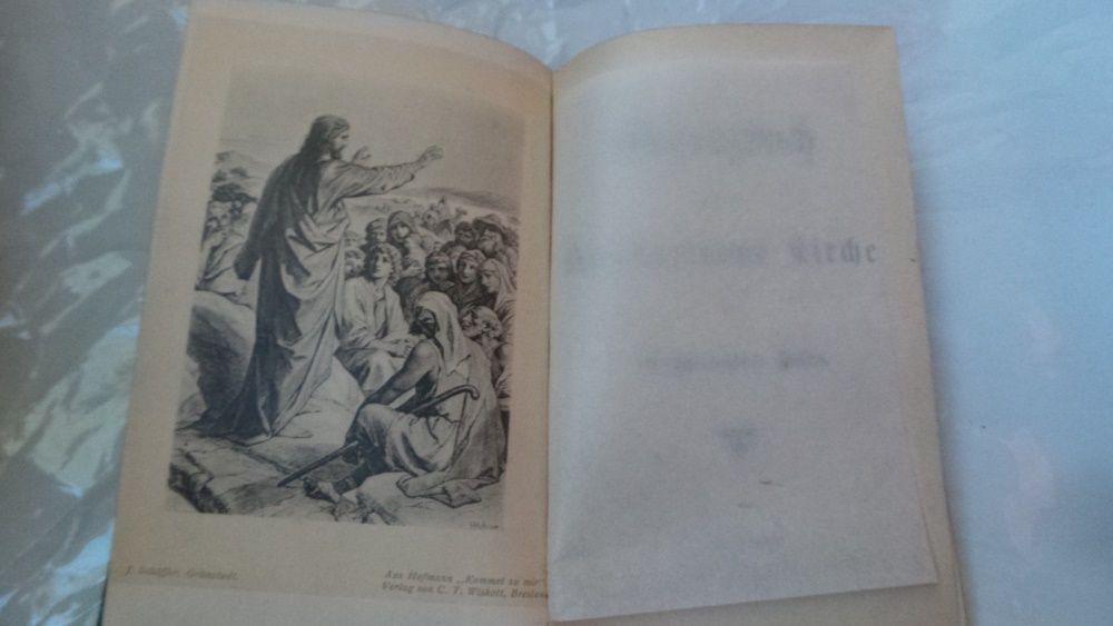 Carte bisericeasca/religioasa/de rugaciuni limba germana 1903