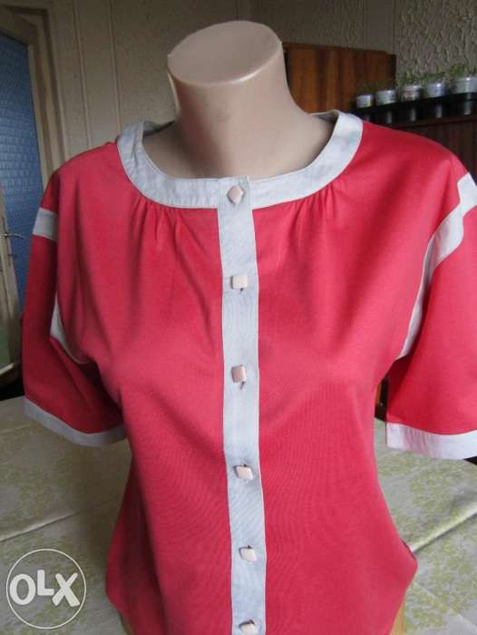 *1+1* Bluza fucsia+bluza alba, bonus- lavanda si punga pentru cadouri