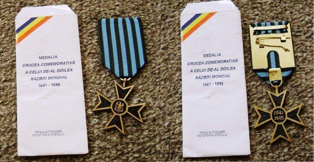 medalia insigna Crucea comemorativa, razboi 1941-1945, WW 2, colectie