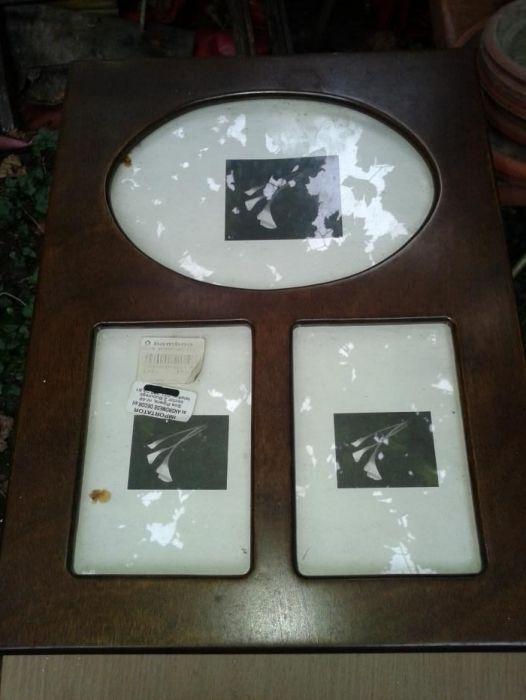 Cutie pastrare fotografii din lemn lacuit, capacitate 250 bucati
