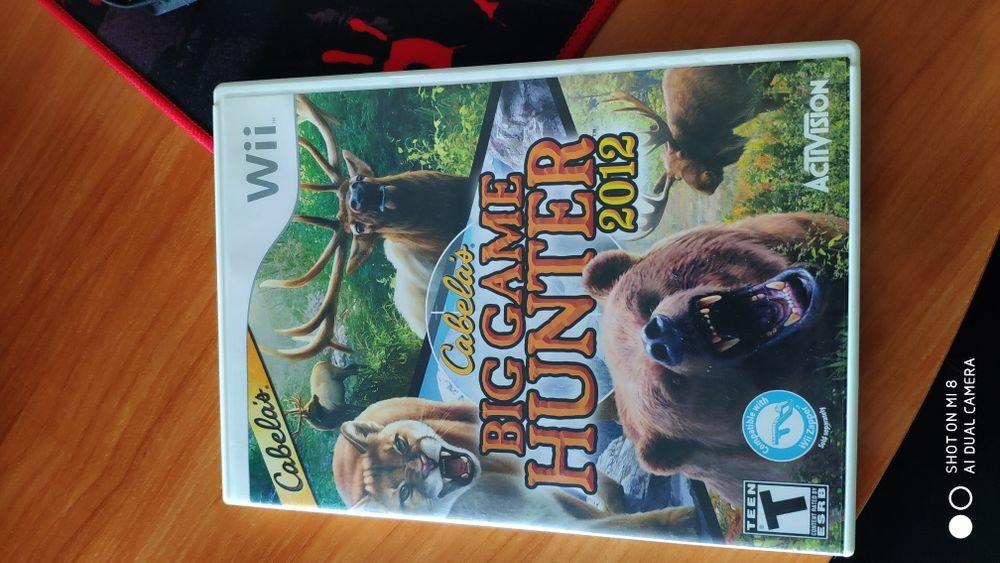 Nintendo Wii Cabela's Big Game Hunter 2012 P.O. Box 67713 USA Standart