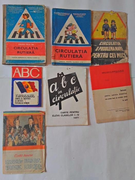 Carti vechi de circulatie rutiera,manuale vechi-colectie
