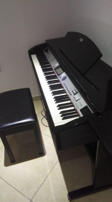 Piano órfã e digital em aluguer vindo da África do Sul marca Medeli