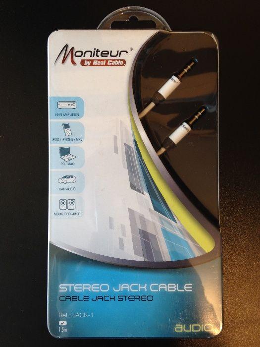 Cablu interconect Jack-Jack Real Cable Moniteur 1,5m lungime, sigilat