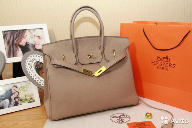 Новая сумка HERMES BIRKIN 35 см, 3 цвета