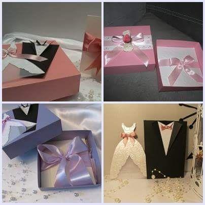 Сватбени покани, бутониери, кутия за пликове и др. Сватбени аксесоари