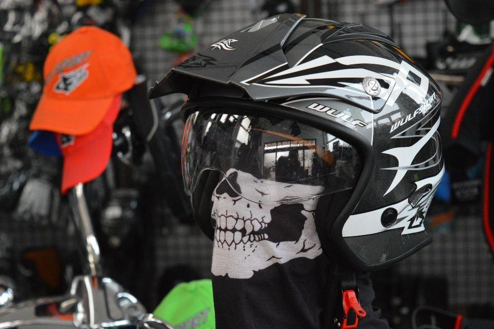 Casca moto,atv buggi racing VISTA Wulfsport
