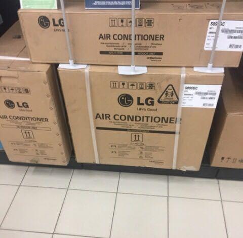 Ar condicionado de 12bts
