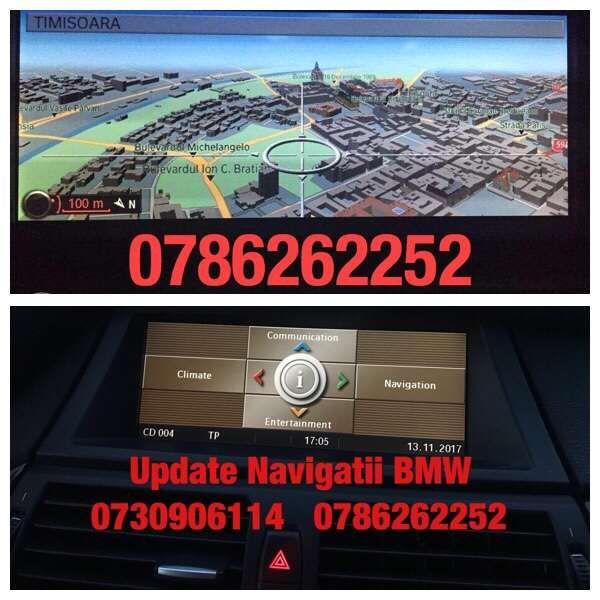 Update BMW Harti 2018 X5 E70,X6 E71,3 E90,5 E60,1 E81 E87 F30 F10 DVD