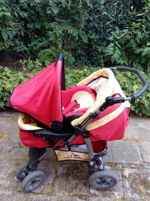 Детска количка с бебе порт