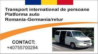 Transport international persoane.romania-germania