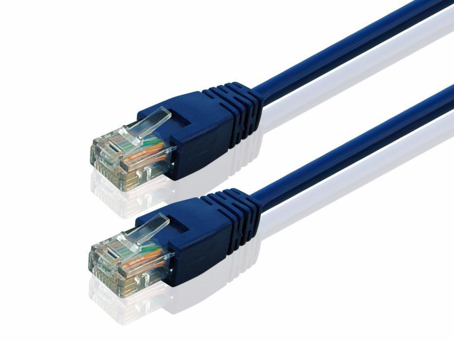 Cablu utp cu mufe 1m , 1.5m router sau switch