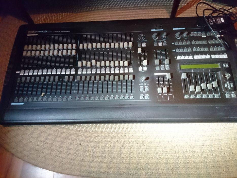Comanda lumini DMX, SGM Studio 24, pentru club, teatru, scena, lumini
