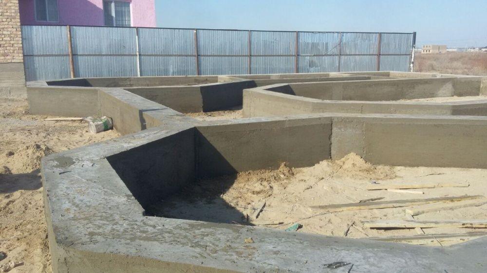 Фундамент Бетон заливаем