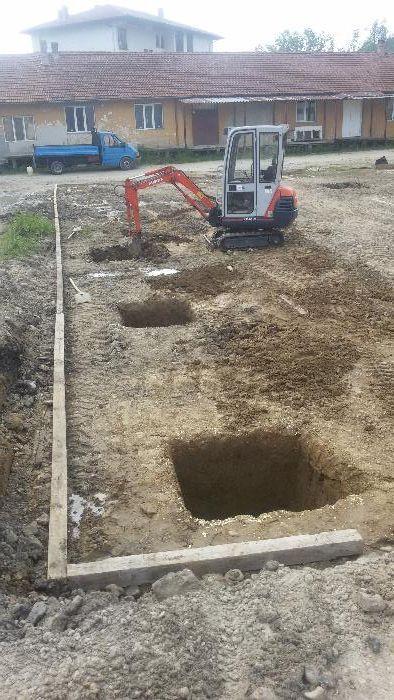 Изкопи с мини багер и транспортни услуги със самосвал до 3,5т гр. Велико Търново - image 4