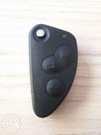 Кутийка за ключ за Алфа Ромео(Alfa Romeo) 147,156,166,159 с 3 бутона