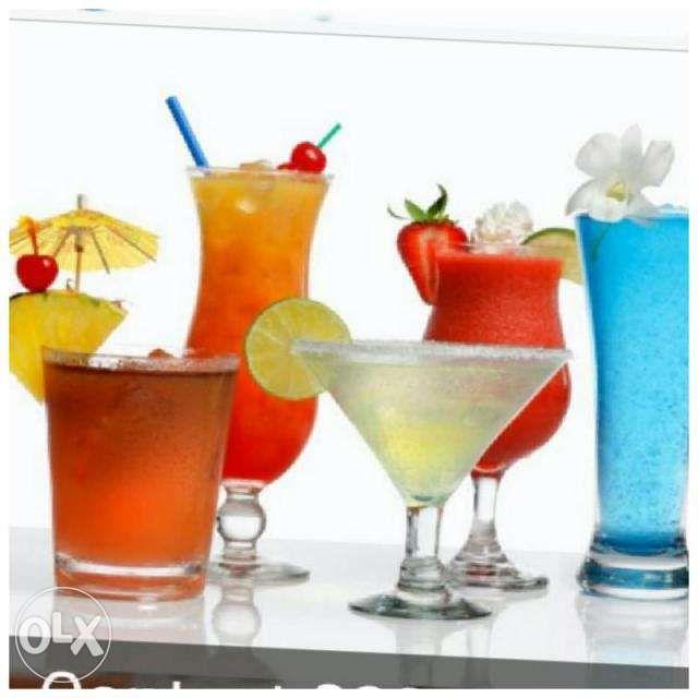 Cocktails para todo tipo de evento
