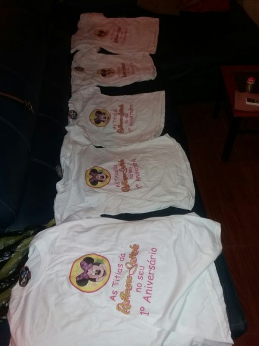 T Shirts para Aniversário