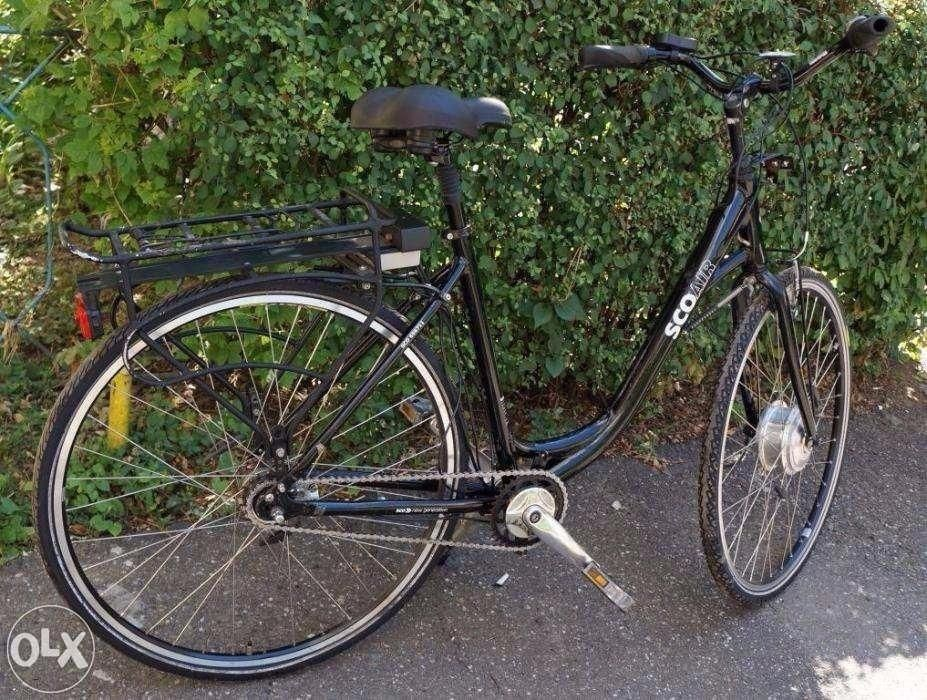 Bicicleta de oras electrica marca Sco