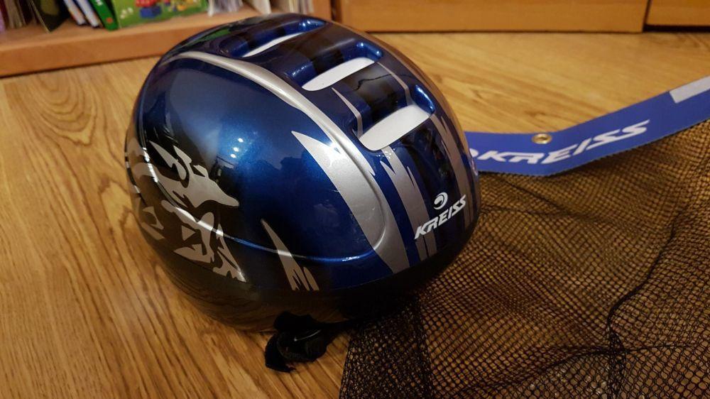 Новый детский шлем для катания на роликах, велосипеде, скейте и т.д.