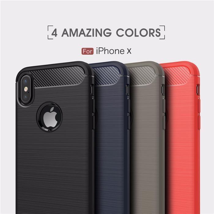 RUGGED ARMOR силиконов калъф кейс мат за Iphone X, 10