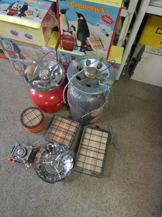 Газовые плиты и обогреватели