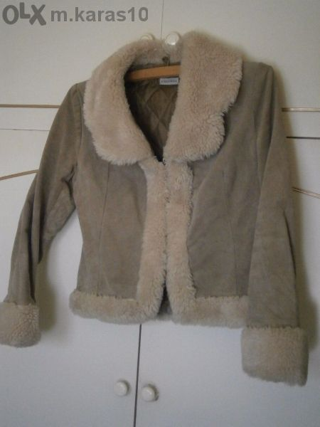 Сако-палтенце велур