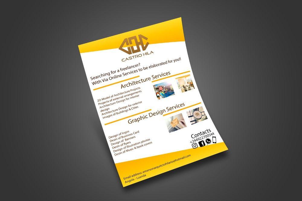 Faz-se Serviços de design gráfico (logótipo,flyer,convites e muitomais