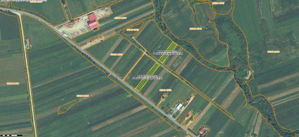 Vanzare  terenuri constructii Bistrita Nasaud, Uriu  - 800 EURO