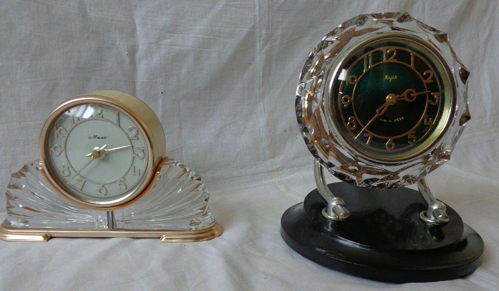 Часовник марка МАЯК ( Majak ) Сделано в СССР ретро два броя РАБОТЕЩИ