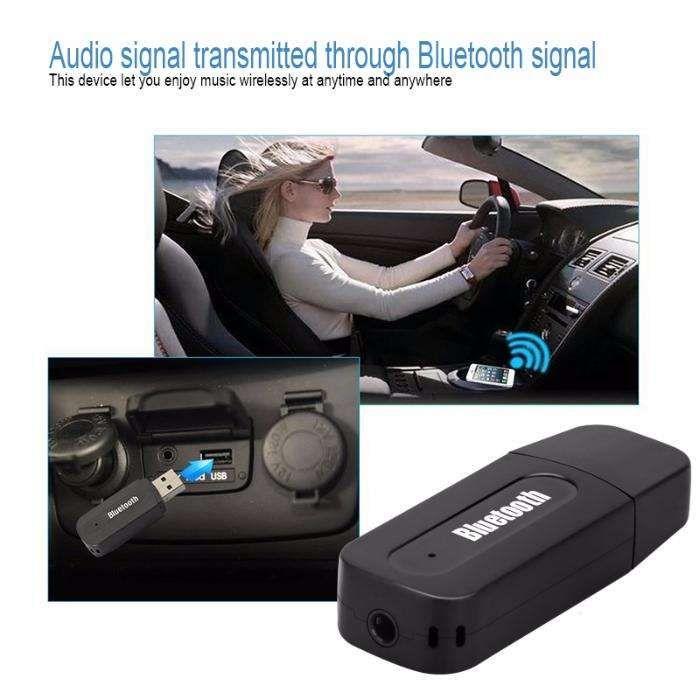 Receiver audio bluetooth stereo pentru auto si acasa