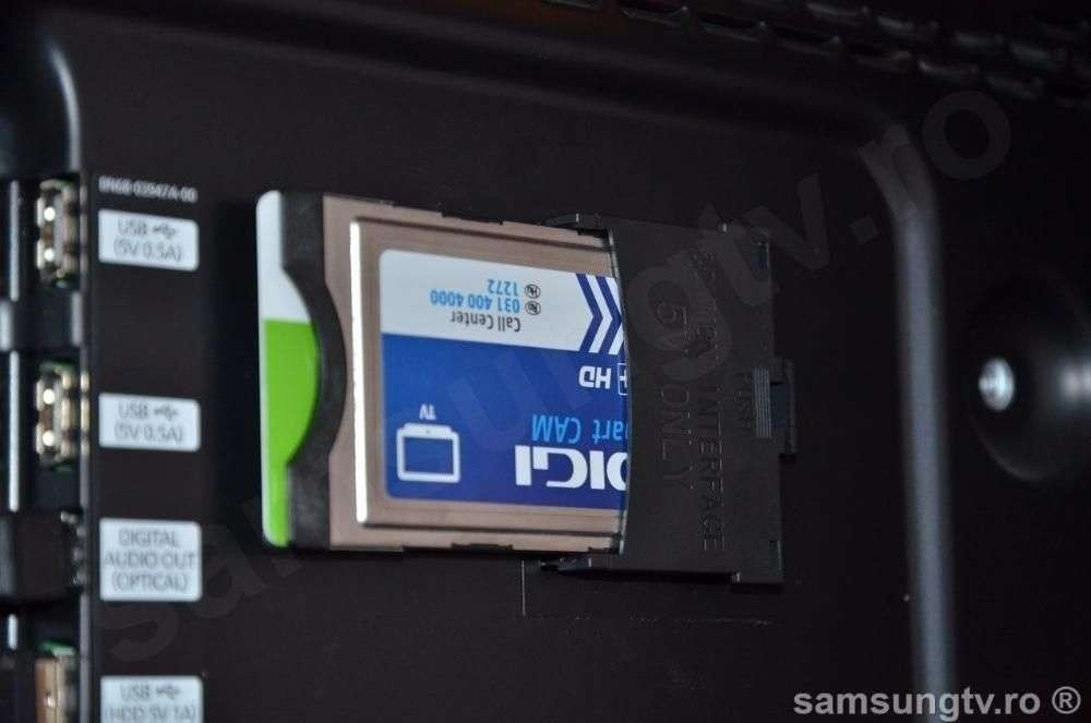 Interfata CI+ TV Smart Samsung Adaptor CI+ Common Interface 5V Sigilat