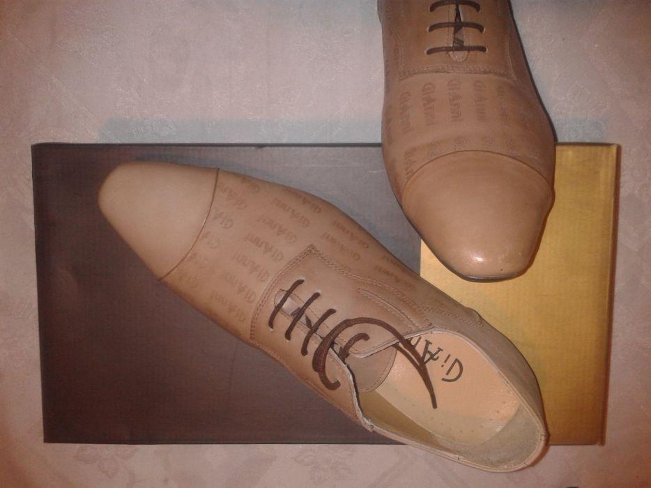 GiAnni-чисто нови маркови обувки 44 номер
