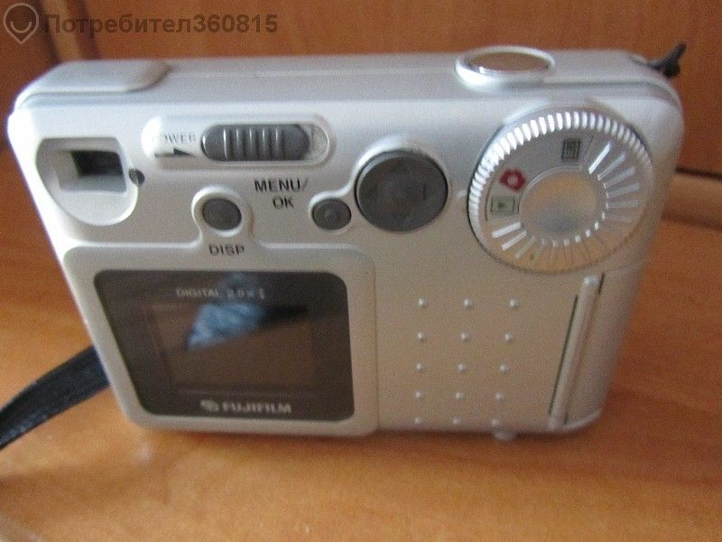 "Продавам цифров фотоапарат""fudjifilm"" 2.1 мегапиксела с мемори-карта 6"
