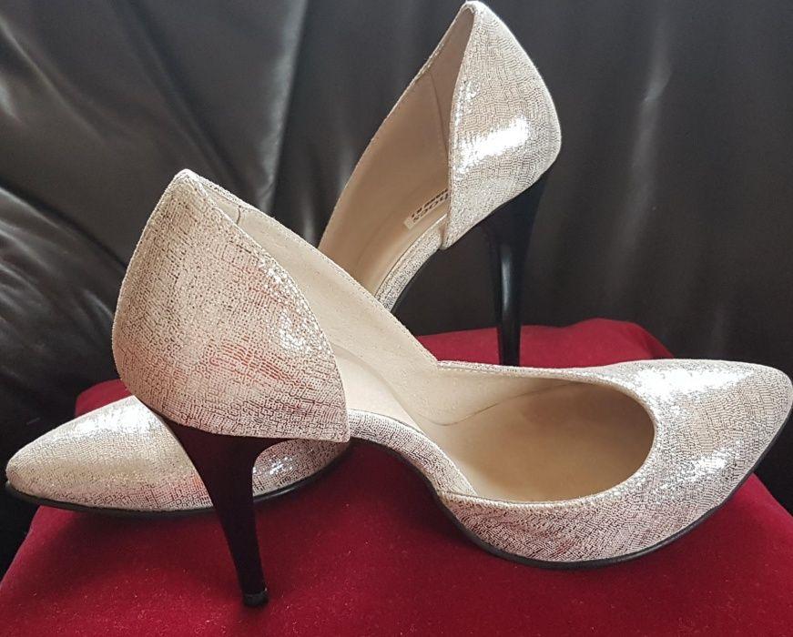Pantofi piele mireasă
