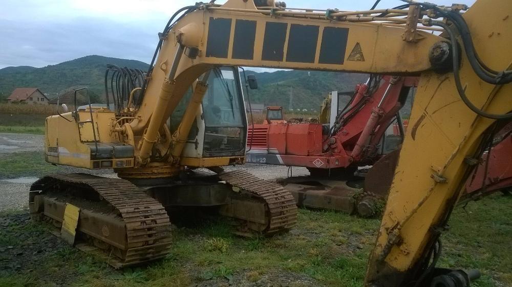 Excavator pe senile Liebherr 914, MARS, HIDROMOTOARE,POMPA HIDRAULICA