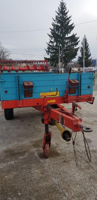 Remorca pentru transport si imprastiat gunoi de grajd MENGELE Hunedoara - imagine 5