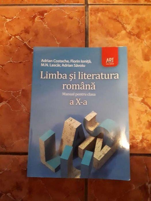 Manual limba romana Art clasa a 10-a