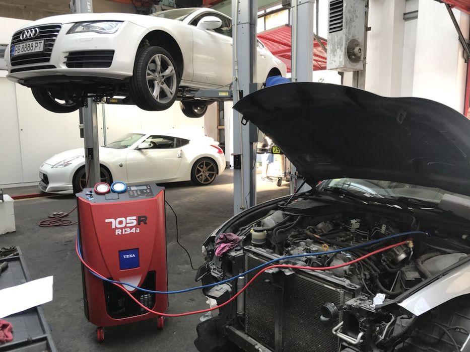 Автосервиз. Зареждане и допълване с фреон R134 на автоклиматици гр. Пловдив - image 2