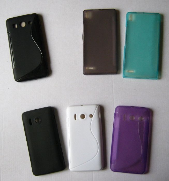 Husa protectie HUAWEI Ascend P6, Ascend y300, G520, , dif. modele +fol