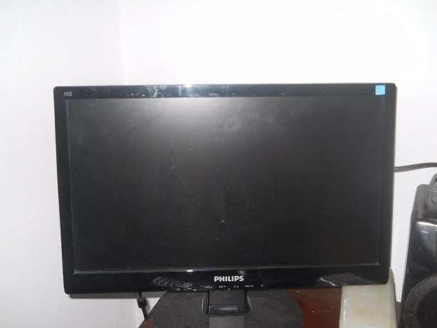 Vind monitor PHILIPS nou,cu tastatura fara fir si telecomanda