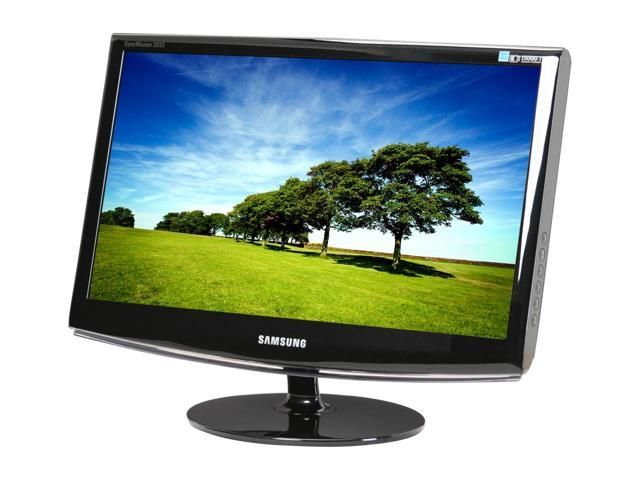"""Monitor LCD Samsung SyncMaster 2333SW 23"""" 16:9 FullHD Widescreen Games"""