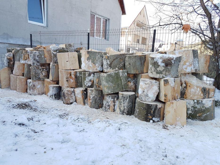 Vand lemne de foc la pret bun exenta tare Fag