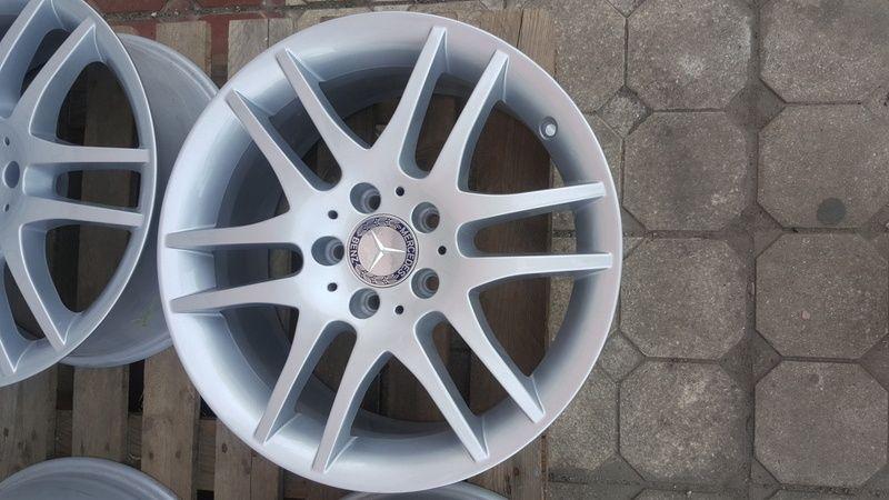 Jante Mercedes SLK 7.5x17 et 36 5x112 OEM Oradea - imagine 2