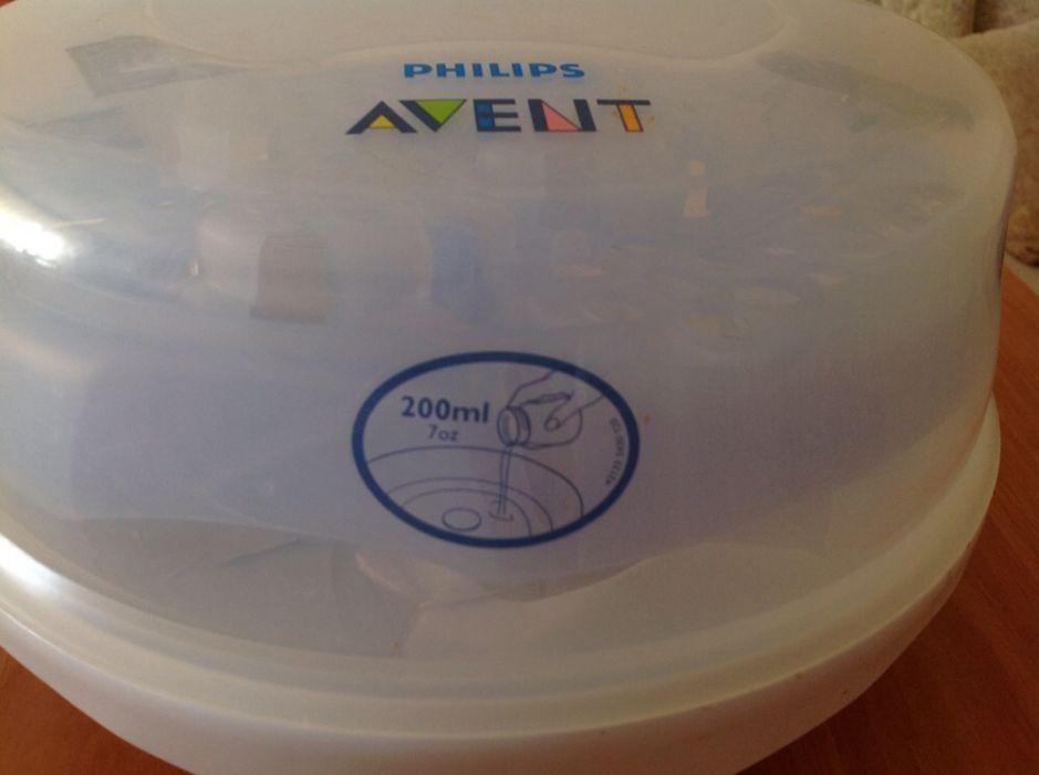 Set pompa sân si sterilizator biberoane Philips Avent