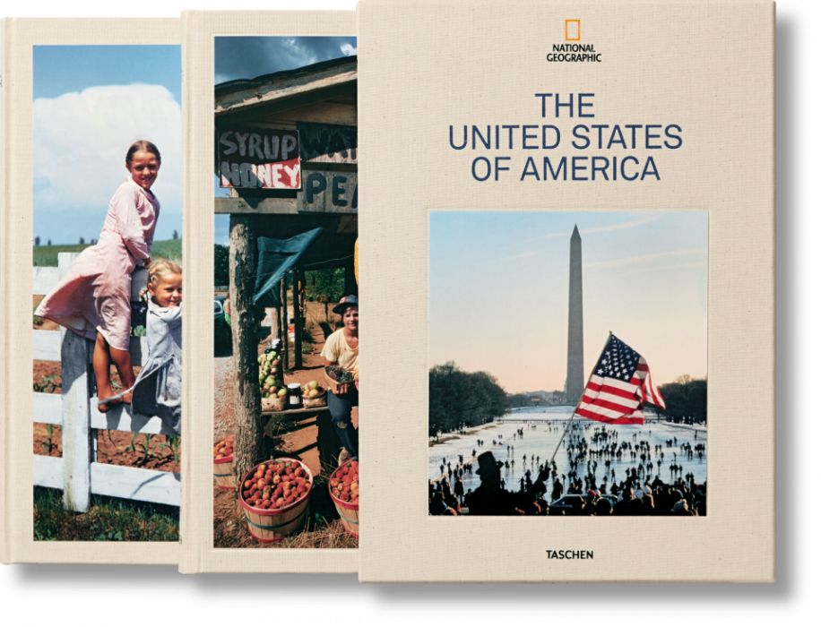TASCHEN National Geographic United States of America carte fotografie