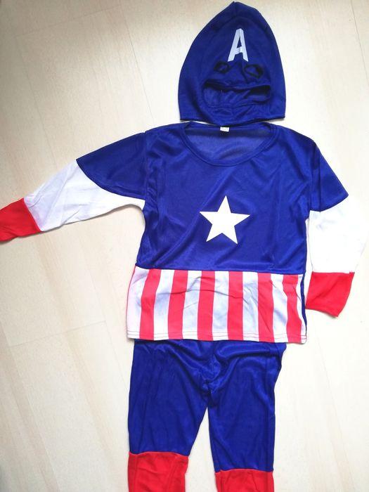 Costumas Captain America, Spiderman, Minioni