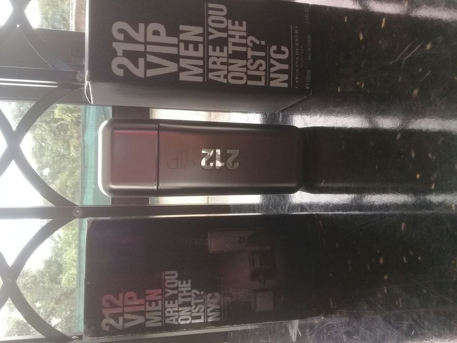Perfume 212 VIP MEN 100ml Cidade de Matola - imagem 3