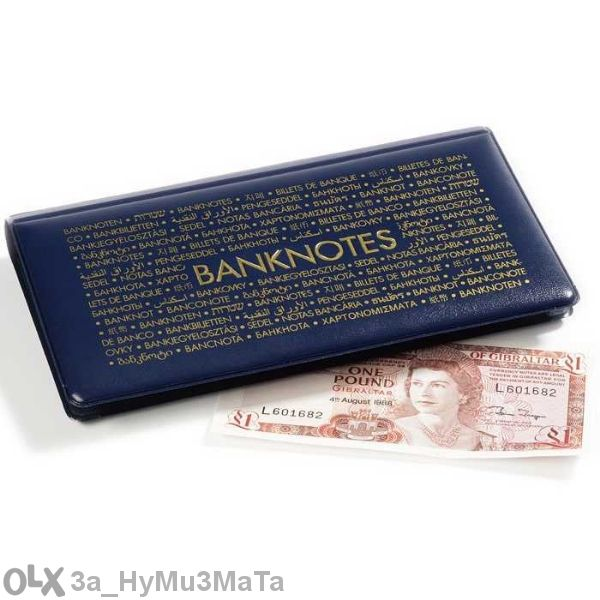 Джобени Албуми За Банкноти С 20 Листа