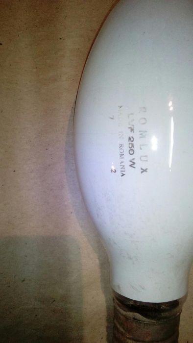 Bec halogen ROMLUX, nou-250W -220V - E 40 - cu dulie ceramica E40 / B1